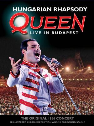 Queen - Queen - Hungarian Rhapsody: Live In Budapest (1986) DVD (album) cover