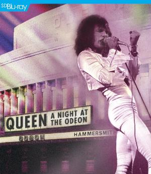 Queen A Night At The Odeon CD album cover