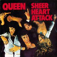 QUEEN - Sheer Heart Attack CD album cover