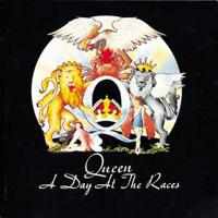 Queen A Day At The Races CD album cover