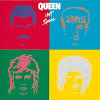Queen - Hot Space CD (album) cover