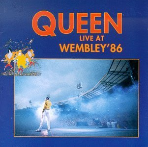 QUEEN - Live At Wembley '86 CD album cover