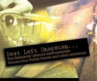 The Residents - Best Left Unspoken, Vol. 1 CD (album) cover