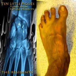 The Residents - Ten Little Piggies: Tunes From Future Projects CD (album) cover
