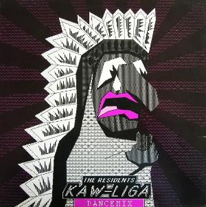 The Residents - Kaw-liga (dancemix) CD (album) cover