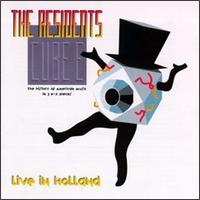 The Residents - Cube E: Live In Holland CD (album) cover