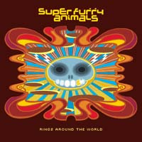 Super Furry Animals - Rings Around The World CD (album) cover