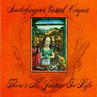 Snakefinger - There's No Justice In Life CD (album) cover