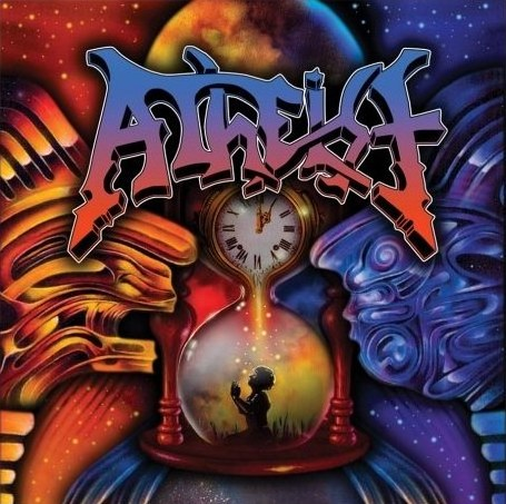 Atheist - Unquestionable Presence: Live At Wacken CD (album) cover