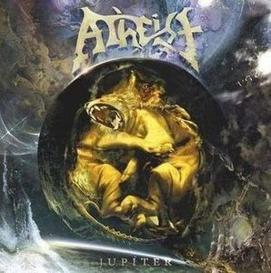 ATHEIST - Jupiter CD album cover