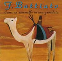 Franco Battiato - Come Un Cammello In Una Grondaia CD (album) cover