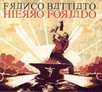 Franco Battiato - Hierro Forjado CD (album) cover