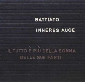Franco Battiato - Inneres Auge CD (album) cover