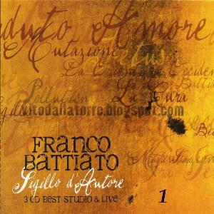 Franco Battiato - Sigillo D'autore CD (album) cover
