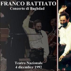 Franco Battiato - Concerto Di Baghdad CD (album) cover