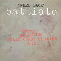 Franco Battiato - Feed Back CD (album) cover