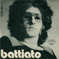 Franco Battiato - Energia / Una Cellula CD (album) cover
