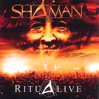 Shaaman - Ritualive CD (album) cover