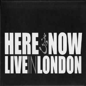 Here & Now - Live In London CD (album) cover