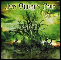 JON OLIVA'S PAIN - Global Warning CD album cover