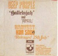 Deep Purple - Hallelujah (I Am The Preacher) / April (part One) CD (album) cover