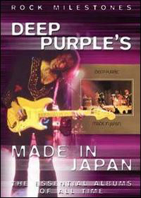Deep Purple - Deep Purple's Made In Japan (Rock Milestones) DVD (album) cover
