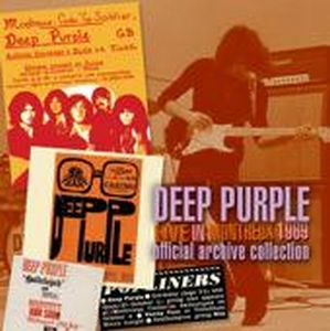 Deep Purple - Live In Montreux 1969 CD (album) cover
