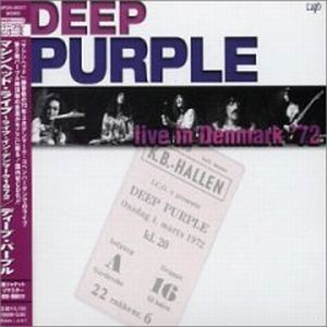 Deep Purple - Live In Denmark 1972 CD (album) cover