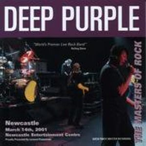 Deep Purple - Australian Tour 2001 - Newcastle CD (album) cover