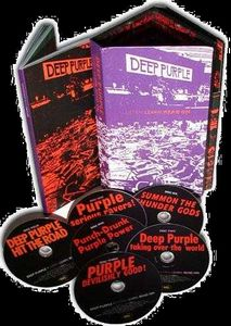 Deep Purple - Listen Learn Read On Boxset CD (album) cover