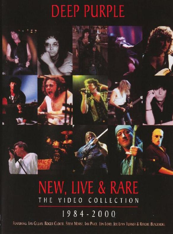 Deep Purple - New, Live & Rare - The Video Collection 1984-2000 DVD (album) cover