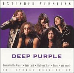 Deep Purple - Extended Versions CD (album) cover