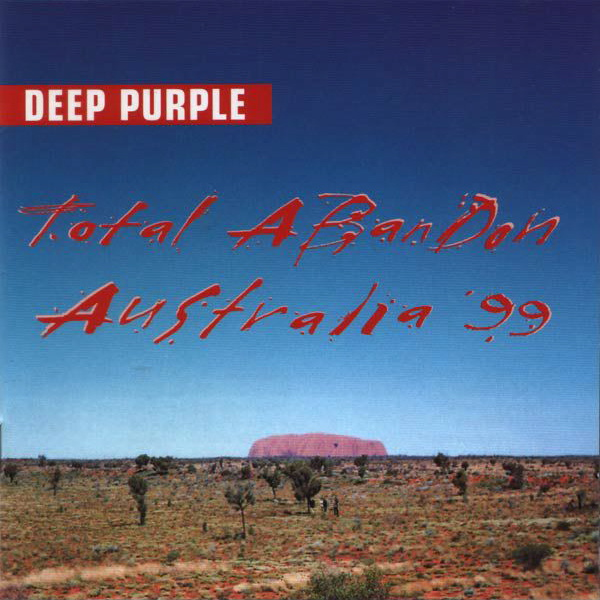 DEEP PURPLE - Total Abandon CD album cover