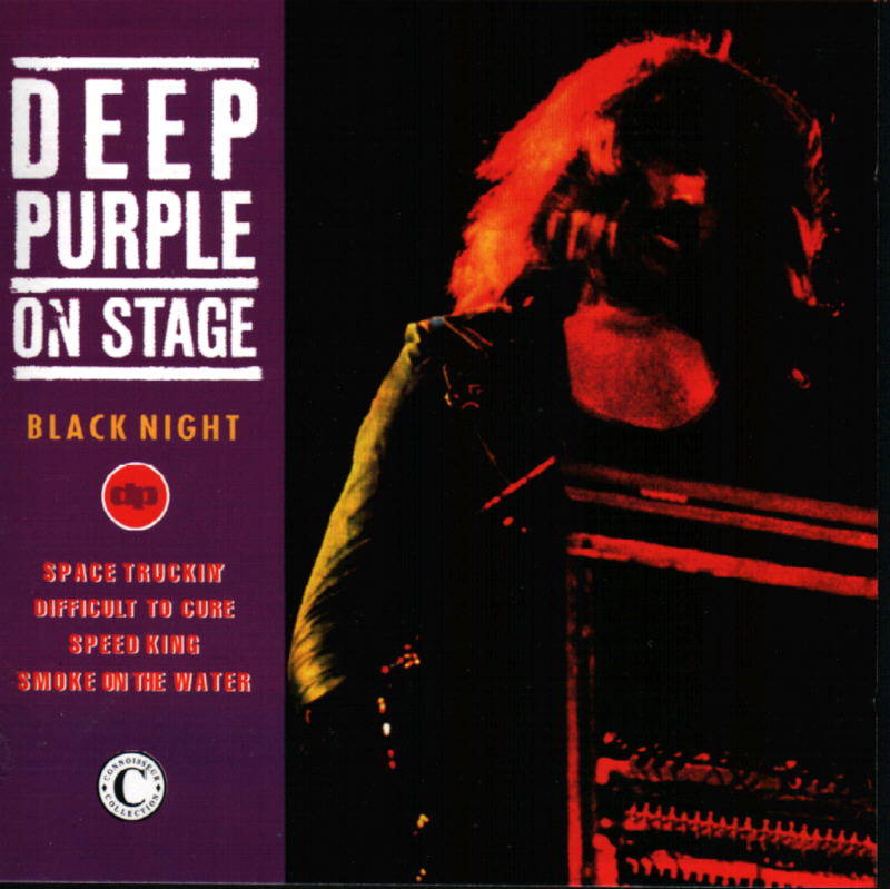 Deep Purple - On Stage: Black Night CD (album) cover