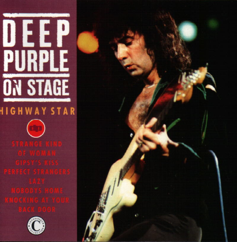 Deep Purple - On Stage: Highway Star CD (album) cover