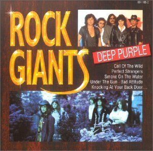 Deep Purple - Rock Giants CD (album) cover