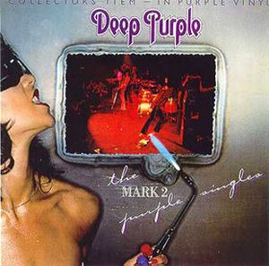 Deep Purple - The Mark 2 Purple Singles CD (album) cover
