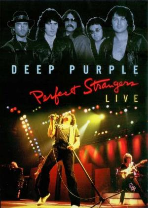 Deep Purple Perfect Strangers Live CD album cover