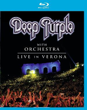 Deep Purple - Deep Purple With Orchestra - Live In Verona DVD (album) cover