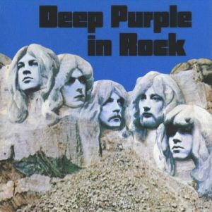 DEEP PURPLE - In Rock CD album cover