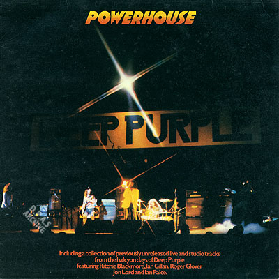 Deep Purple - Powerhouse CD (album) cover