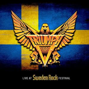 Triumph Live At Sweden Rock Festival CD album cover