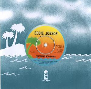 EDDIE JOBSON - Yesterday Boulevard CD album cover