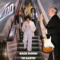 Zon -  Back Down To Earth CD (album) cover