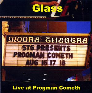 Glass - Live At Progman Cometh CD (album) cover