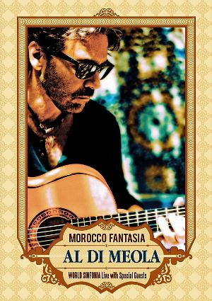 Al Di Meola Morocco Fantasia CD album cover