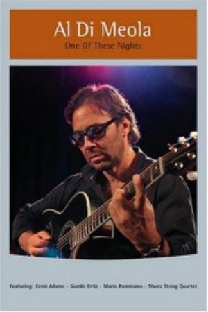 Al Di Meola - One Of These Nights DVD (album) cover