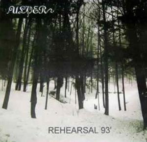 Ulver - Rehearsal 1993 CD (album) cover