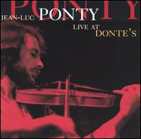 Jean-luc Ponty - Live At Dontes CD (album) cover
