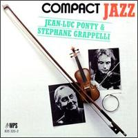 Jean-luc Ponty - Jean Luc Ponty And Stephane Grappelli CD (album) cover